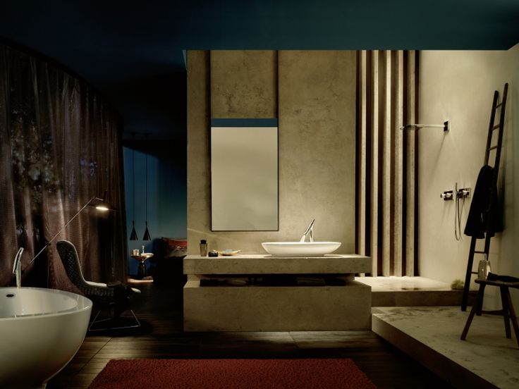 COUNTER TOP WASHBASIN MIXER AXOR STARCK ORGANIC COLLECTION BY HANSGROHE | DESIGN PHILIPPE STARCK
