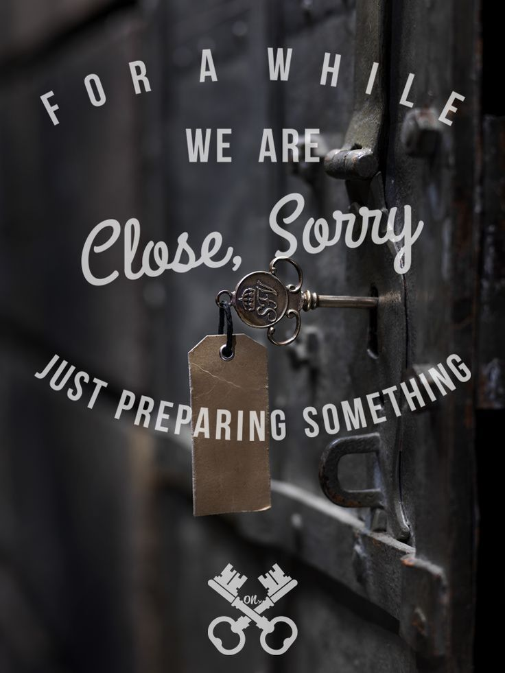 When we close, isn't mean we're close forever.. https://facebook.com/StreamonApparel https://twitter.com/StreamOnApparel