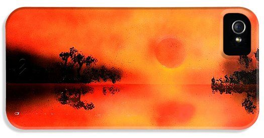 Joy Of The Sun IPhone 5 / 5s Case Printed with Fine Art spray painting image Joy Of The Sun by Nandor Molnar (When you visit the Shop, change the orientation, background color and image size as you wish)