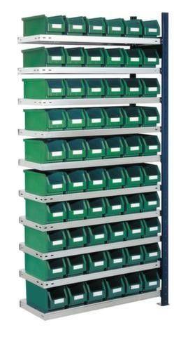 GTARDO.DE:  Schraubregal, Anbau, HxBxT 2000 x 1003 x 300 mm, Kasten-Anzahl x Gr. 60 x Gr.5 370,00 €