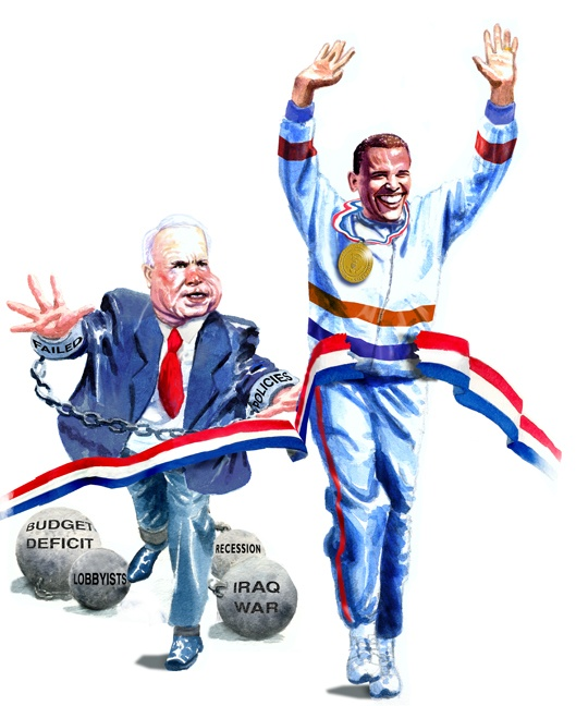 Image detail for -Obama vs. McCain!