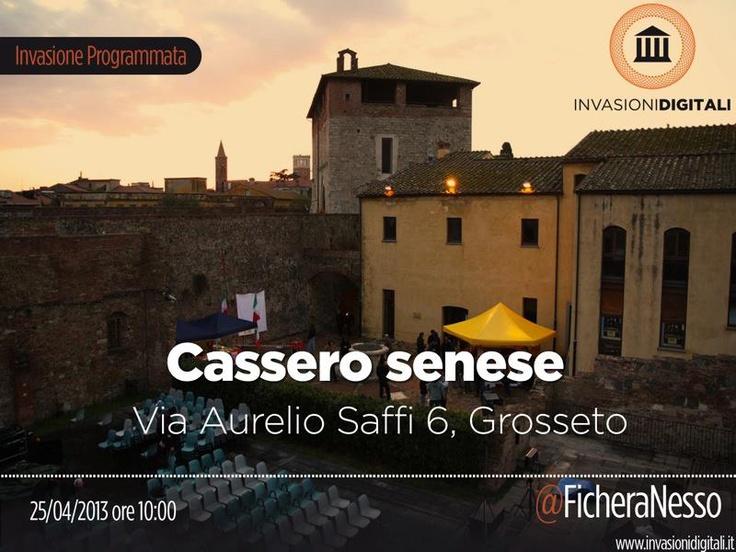 #InvasioniDigitali il 25 aprile alle ore 10.00 Invasore: Alessandro Fichera