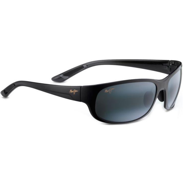 Maui Jim Twin Falls Polarized Sunglasses, Men's, Black