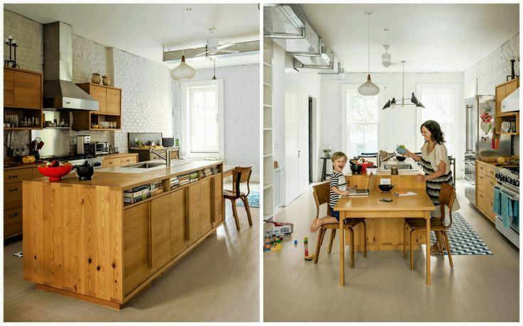 otevřené police v kuchyň. skříňkách
