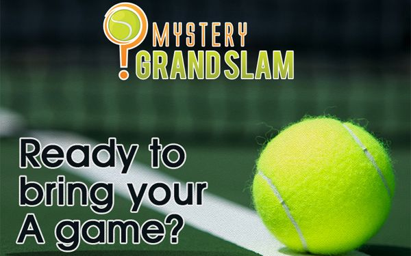 Play the daily Mystery Grand Slam game and win a prize.