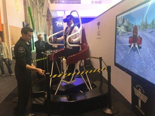 Martin Jetpack simulator