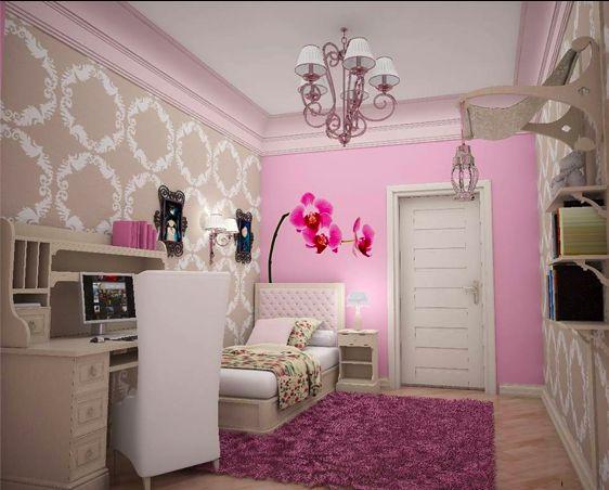 PBTeen bedroom/ work space