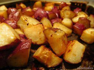 Honey Roasted Red Potatoes | yummy ideas | Pinterest