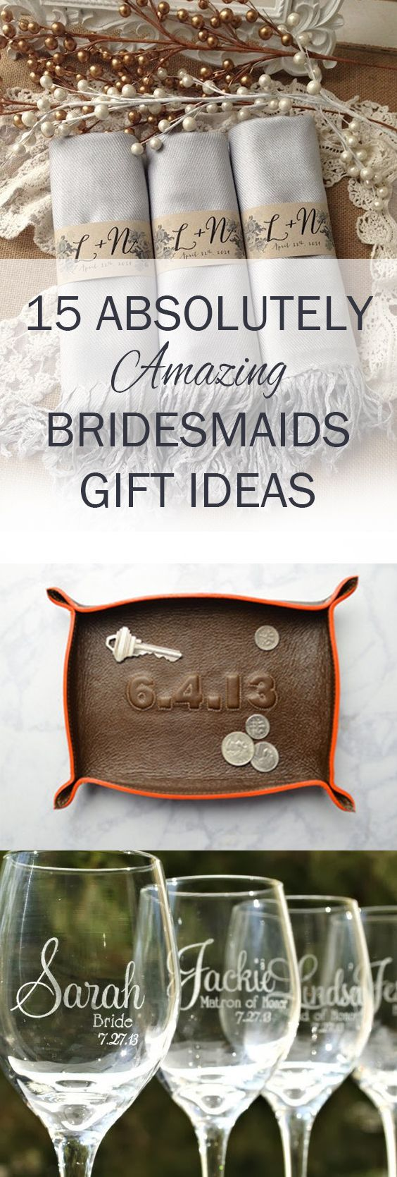 Bridesmaids, Bridesmaids Gifts, Gifts For Her, Gift Ideas, Popular Pin, Wedding Gifts, Wedding DIYs, Dream Wedding, Wedding Planning, Unique Bridesmaid Gift Ideas, Wedding Gift Hacks, What to Get Bridesmaid
