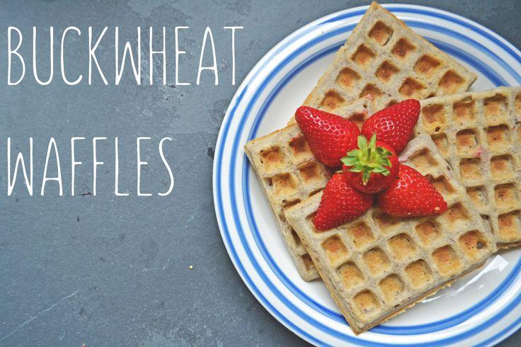 BUCKWHEAT WAFFLES http://www.she-smiles.com/home//buckwheat-waffles
