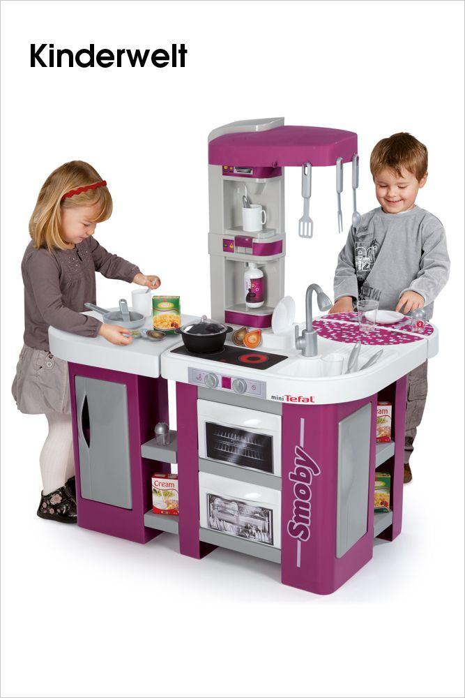 SIMBA DICKIE GROUP U2022 Grenzenloser Spielspaß Mit Der Tefal Studio XL Küche  Von Smoby. Die