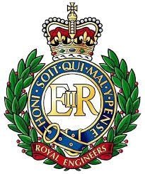 Royal Engineers insignia. 1717 present