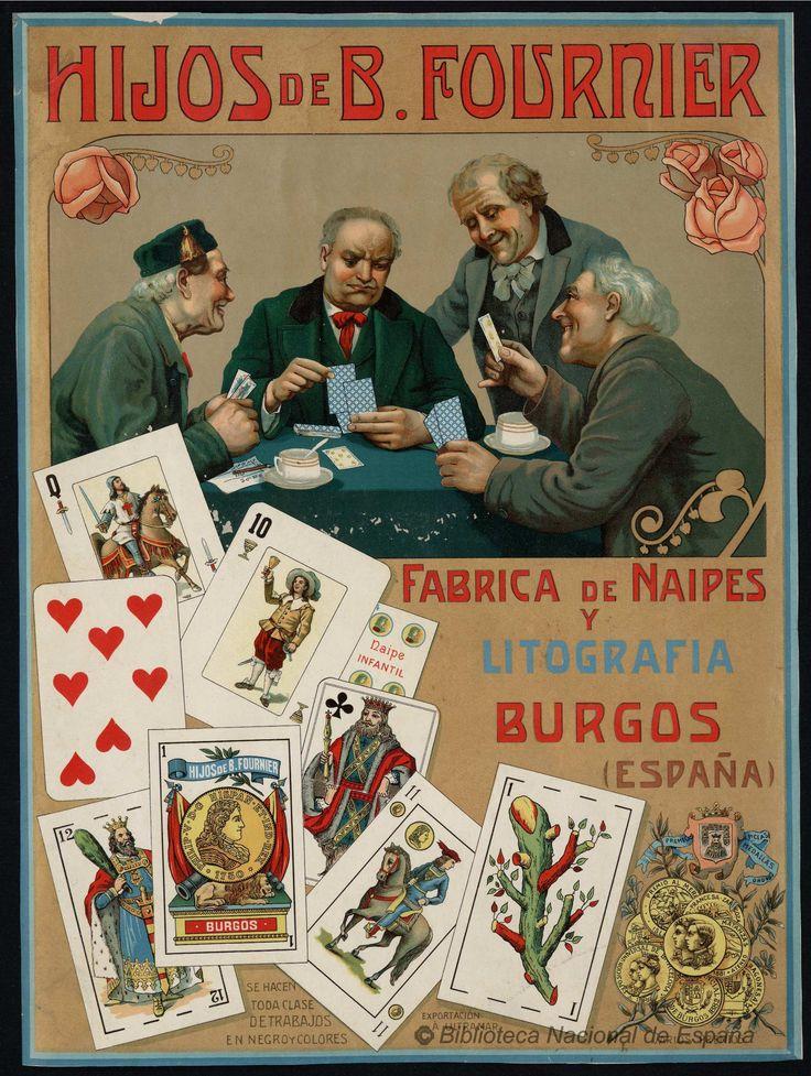 Hijos de B. Fournier, Fábrica de Naipes y Litografía Burgos (España). Libro — 1900-1930 http://bdh-rd.bne.es/viewer.vm?id=0000024200