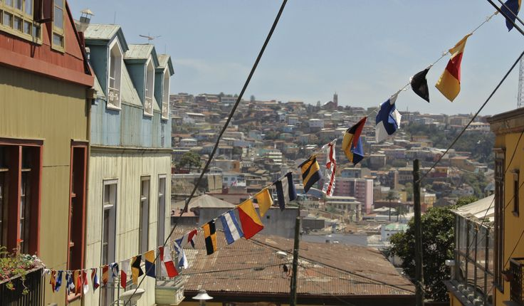 Sin fronteras.... en Valparaiso, Chile.