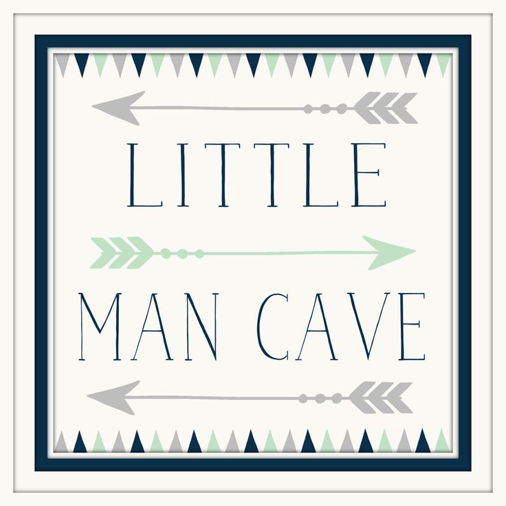 Baby Boy Nursery Decor - Little Man Cave - Navy - Grey - Art with Arrows - Art for little boys - Art for boys room - Art for boys Bathroom by ArtsyPumpkin on Etsy https://www.etsy.com/listing/258488824/baby-boy-nursery-decor-little-man-cave