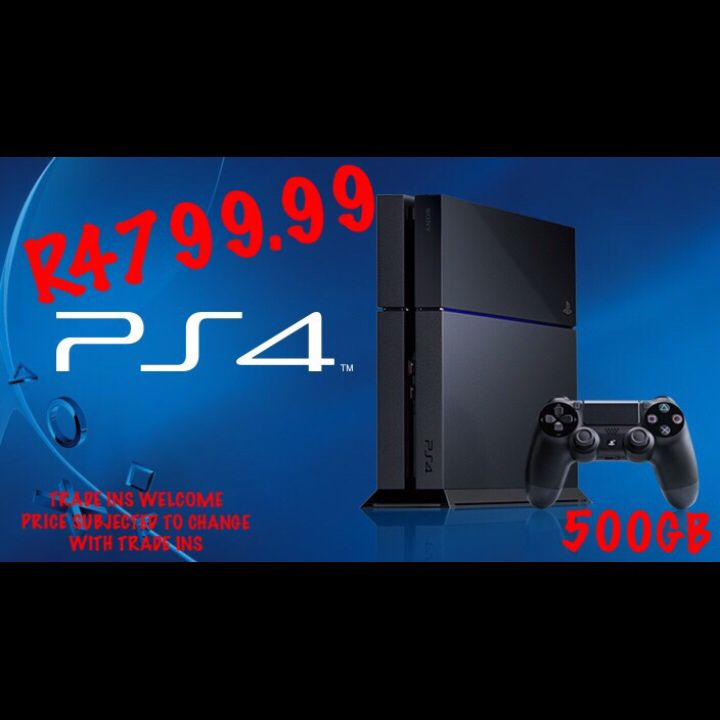 TRADE IN YOUR OLD GAMES AND CONSOLES FOR A NEW GENERATION GAMING CONSOLE ONLY @ GamesRus   OPEN 7 DAYS A WEEK  SAT TILL THURS FROM  08:45 TILL 19:00 FRIDAYS FROM 08:30 till 20:00 SUNDAYS 08:30 till 18:00  Stockiest of all Gaming Consoles, Games