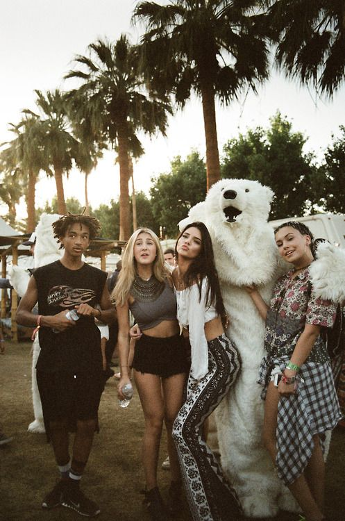 The time she went to Coachella with Jaden Smith and more of her close friends. Description from teen.com. I searched for this on bing.com/images