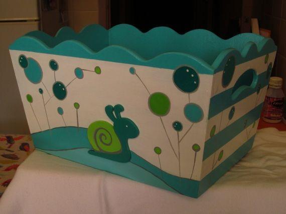 baby shower caja de regalos en decoupage - Buscar con Google