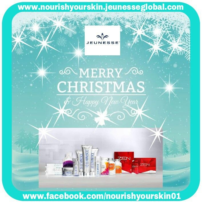 Give the gift of Youth & turn back the Body Clock Look & feel younger from the inside out A complete Youth Enhancement System using world first scientific Stem Cell Technology.  Designed to work on a cellular level Skin Care, Dietary Supplements & Weight Management www.nourishyourskin.jeunesseglobal.com
