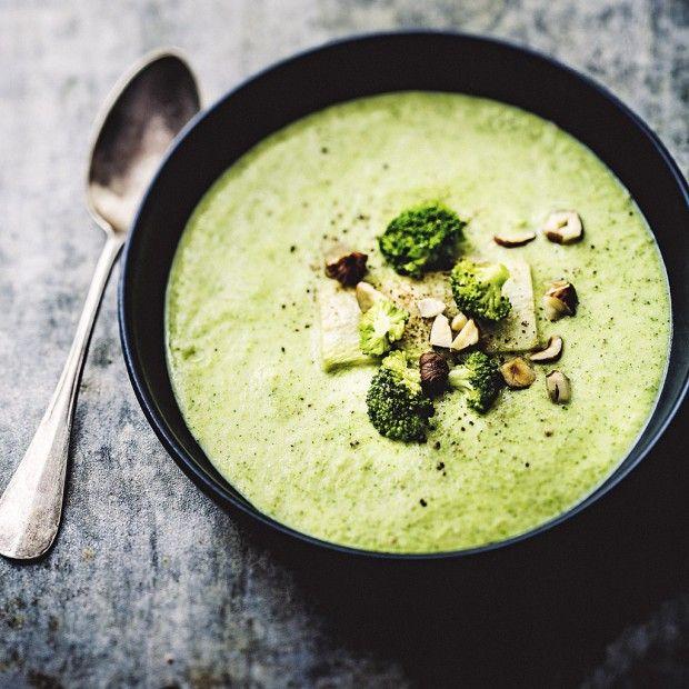 La cuisine légère d'Errant Menthéour Cream of Broccoli via Sandra Angelozzi