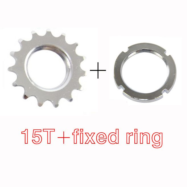 fix gear 13T/14T/15T/16T/17T/18T Sprocket,chain rings,cogs,single speed freewheel,wheel parts CZF008