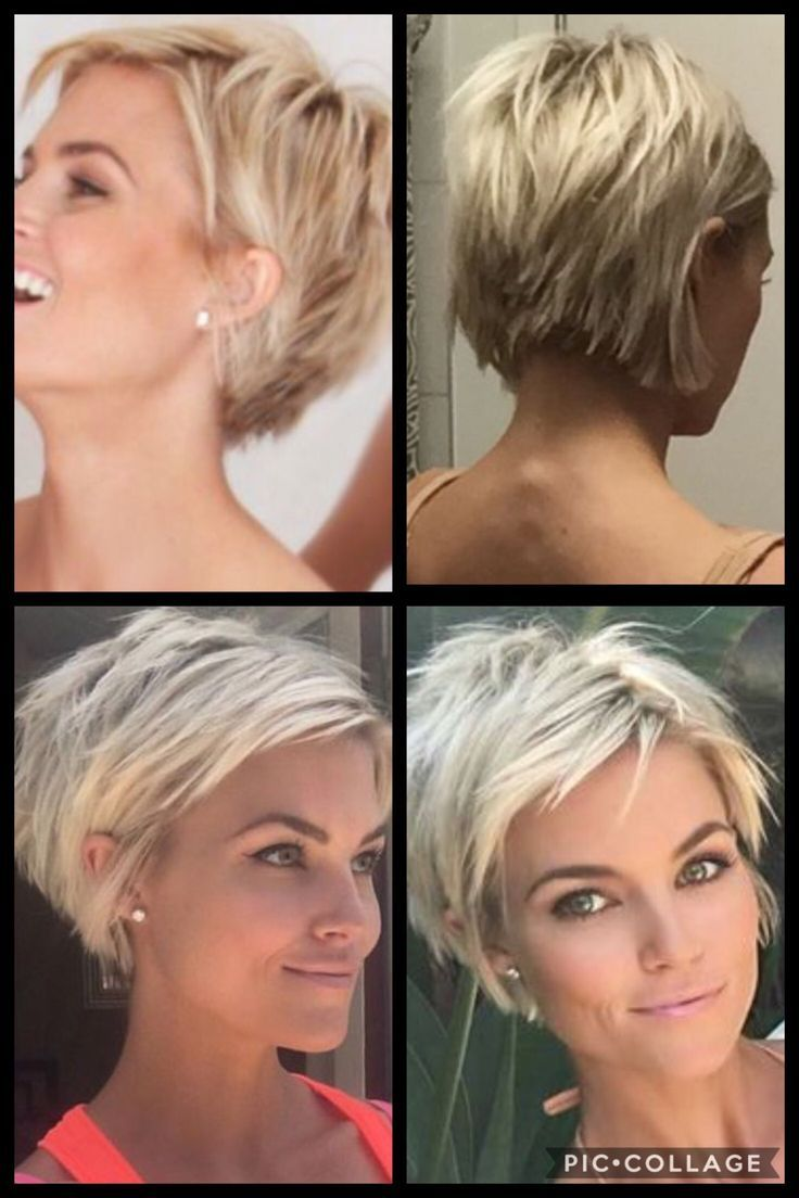 This Haircut Also Really Likes In 2020 Short Haircuts Fine Hair Thick Hair Styles Short Blonde Hair