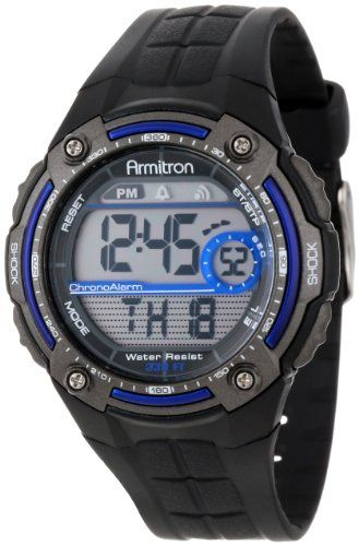 #armitronsportwatches-armitronallsport #armitronwatches #sportwatches Armitron Sport Men's Sport Watch with Black Rubber Band Check https://www.carrywatches.com