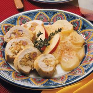Savory Stuffed Chicken Breasts Recipe | Taste of Home Recipes