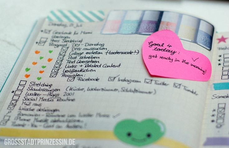 Bullet journaling for goal setting & time management, all lists/calendars/org in one notebook