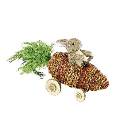 Another great find on #zulily! Bunny & Carrot Car Figurine by Shea's Wildflowers Company #zulilyfinds