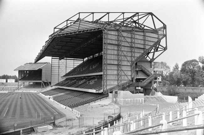 Chelsea's £3m East Stand sits somewhat incongruously next to The Shed Ref #…