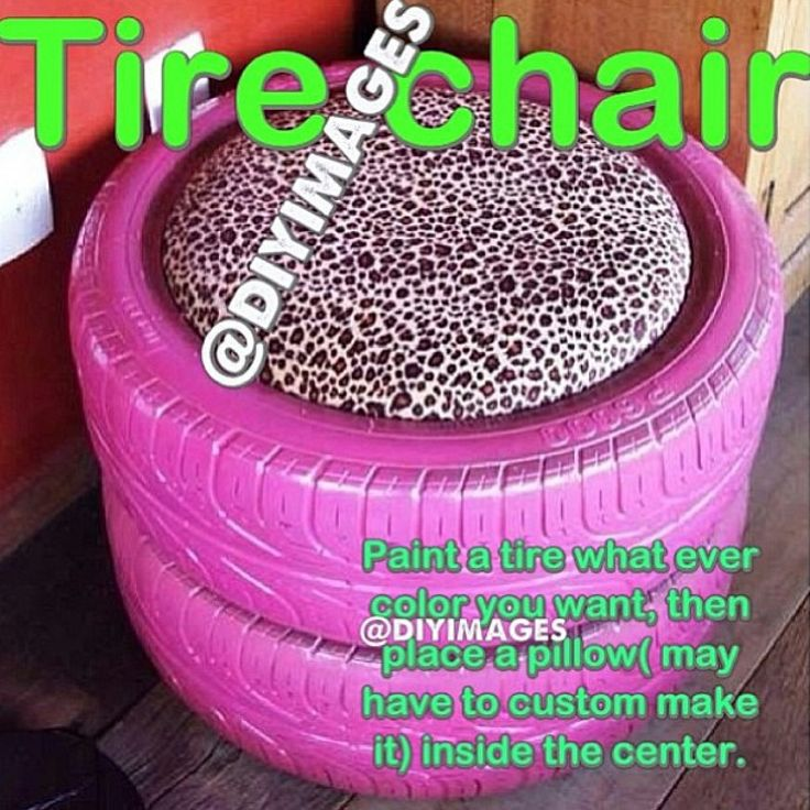 Tire chair