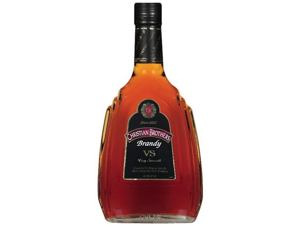 The brandy I drink - because it's what my grandfather (Papa) drank. I had NO IDEA the actual Christian Brothers made this, let alone in the Central Valley. When research and real life collide!