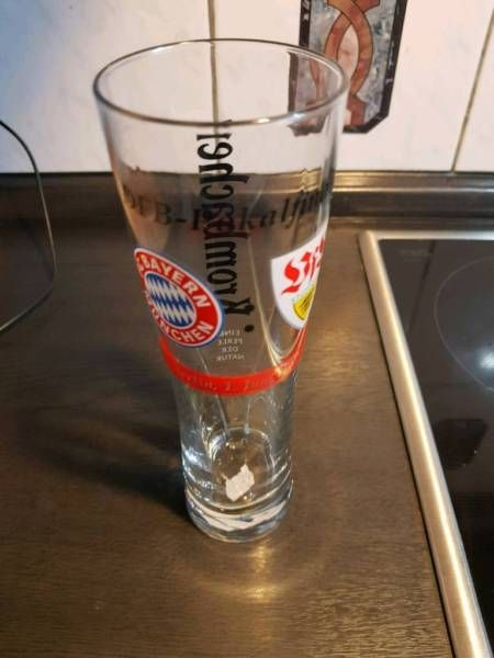 Verkaufe das DFB Pokal Endspiel Glas vom 01. Juni 2013 (Berlin) im Top Zustand,DfB Pokal VfB Stuttgart vs. FC Bayern 1.Juni 2013 in Baden-Württemberg - Friedrichshafen