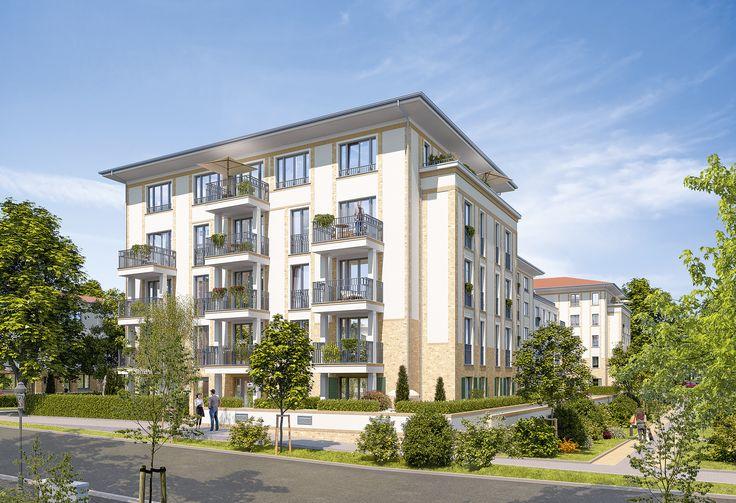 Jede Wohnung verfügt über mindestens einen Balkon oder eine Terrasse. Zudem gibt es eine direkte S-Bahn Anbindung nach Berlin!