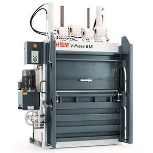 http://www.asturalba.com/maquinas/prensas/prensas_verticales/prensas_verticales.htm Prensa compactadora enfardadora de balas vertical HSM V-Press 818