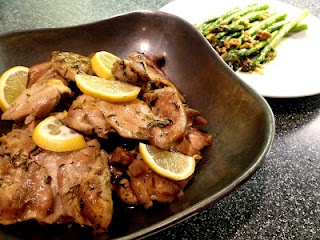 Lemon Chicken/Asparagus w/walnutsCarb Recipe, Tasty Recipe, Chicken Asparagus W Walnut, Chicken Recipe, Food Advocacy, Food Ideas, Lemon Chicken Asparagus, Healthy Recipe, Favorite Recipe