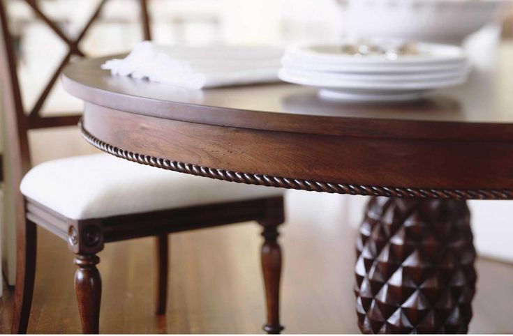 59 best images about chris madden designs on pinterest for Dining room tables jcpenney