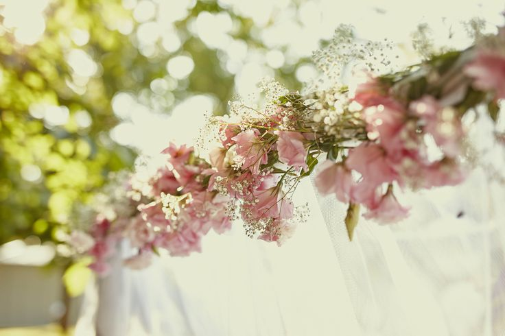 Gorgeous flower wedding decoration