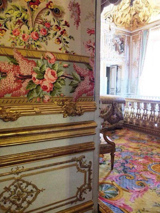 1438 best images about marie antoinette on pinterest for Chambre louis xvi versailles