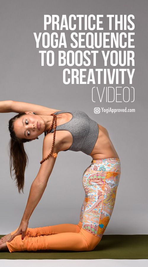 Practice This Yoga Sequence to Boost Your Creativity (Video)