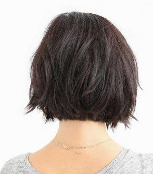 Cute Dark Bob Hairstyles best short hairstyles 2016-2017