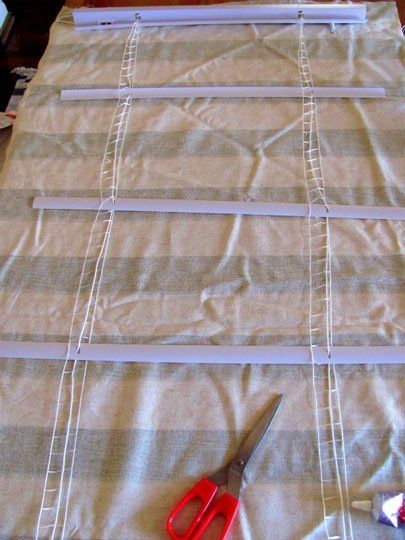 How To No Sew Roman Shades Girls Up Cycle And Roman Shades