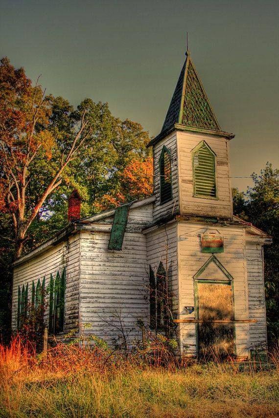 Abandoned Civil War Era Church.....