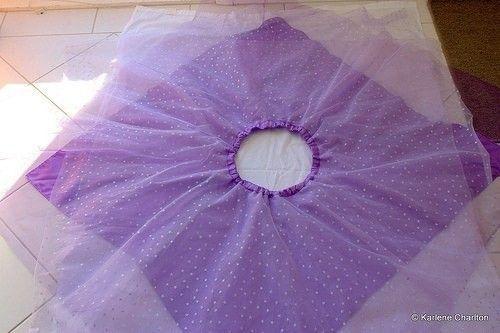 How to make a skirt. Fairy Skirt - Step 1