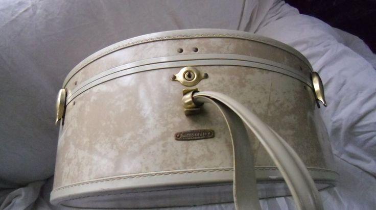 Vintage Samsonite Hard Shell Train Case #Samsonite $59.99