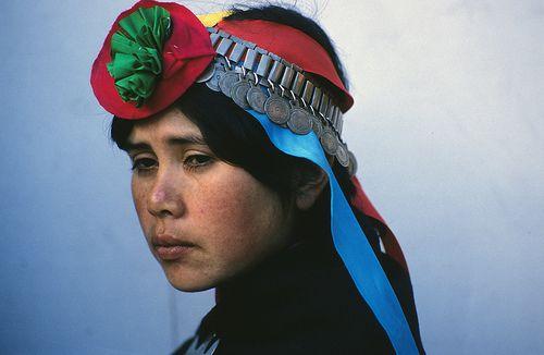 Mapuche woman, Temuco, Chile, 1990   Marcelo Montecino   Flickr