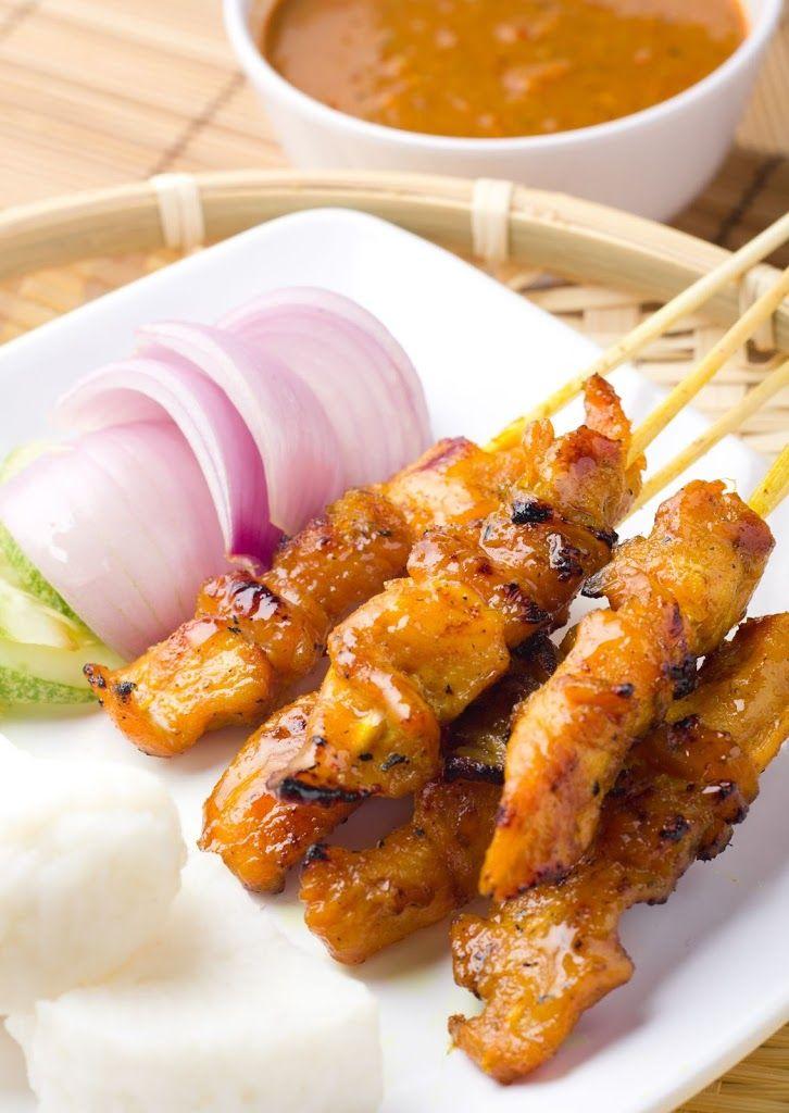Peanut Chicken Satay Recipe on Yummly. @yummly #recipe