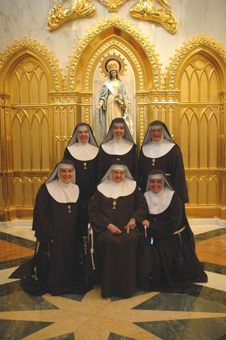 nun sister mother nude A Franciscan Community of Poor Clare Nuns of Perpetual Adoration