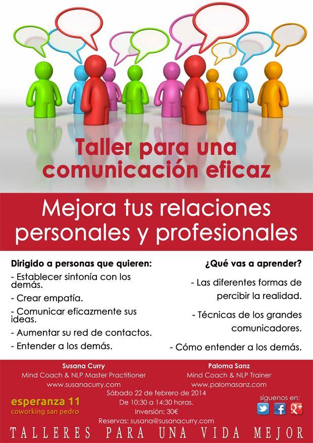 Taller para una comunicación eficaz